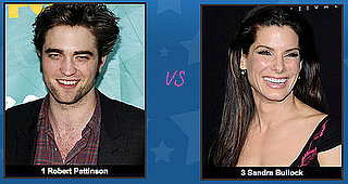 It's Robert Pattinson vs. Sandra Bullock in the PopSugar 100 Finals — Time to Vote!