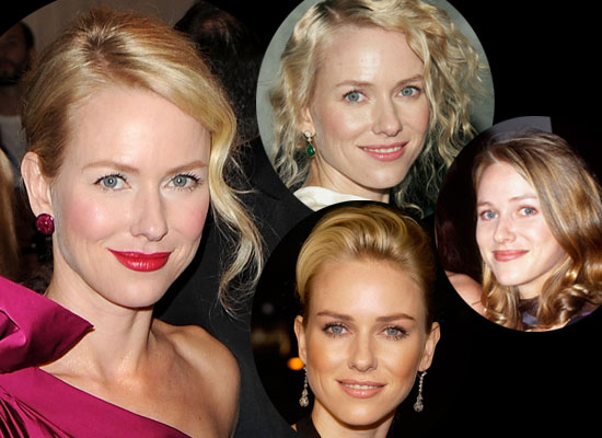 Photos of Naomi Watts&#039; Hair and Makeup