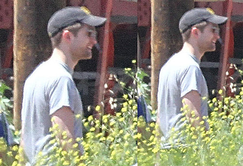 Pictures of Robert Pattinson on The Set of Water For Elephants