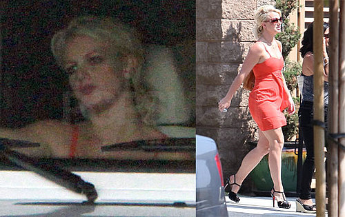 Pictures of Britney Spears Getting a Happy Meal in LA