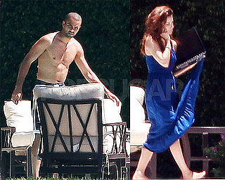 Pictures of Eva Longoria and Tony Parker Shirtless in Miami