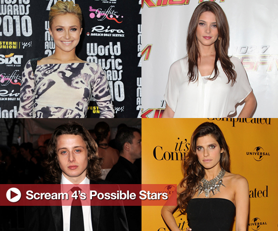 Scream 4's Possible Stars: Cast 'Em or Chuck 'Em?