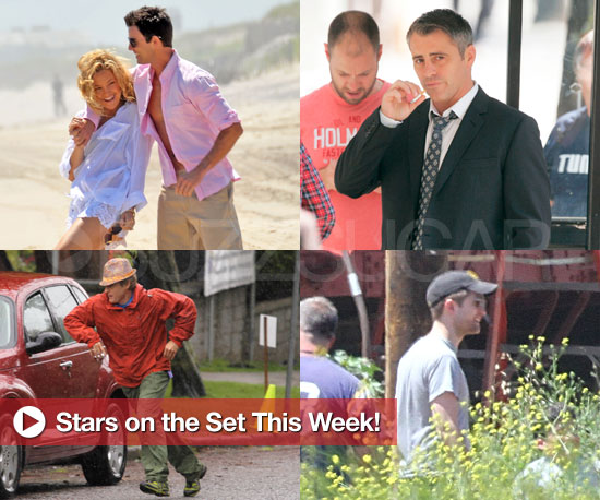 Pictures of Kate Hudson, Robert Pattinson, Reese Witherspoon, Matt LeBlanc on Set
