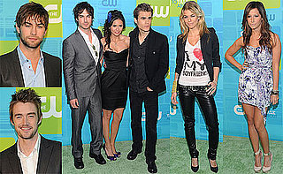 Pictures of Chace Crawford, Nina Dobrev, Paul Wesley, and Ian Somerhalder at The CW Upfront Event 2010-05-23 18:30:41