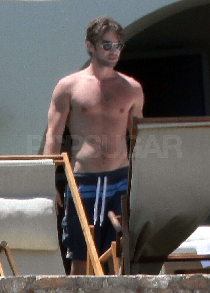 Pictures of shirtless Chace