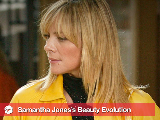 Samantha Jones's Beauty Evolution