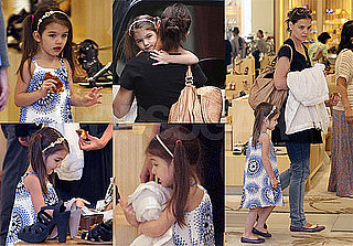 Pictures of Katie Holmes Shopping in LA With Suri Cruise