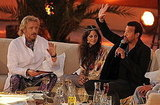 Pictures of Nicole and Lionel Richie on German Talk Show