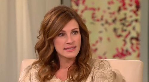 Video of Julia Roberts Promoting Eat, Pray, Love on Oprah