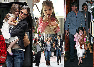 Pictures of Katie Holmes and Suri Cruise Getting Ice Cream in New York