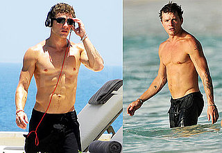 Pictures of Shirtless Ryan Phillippe in The Carribean