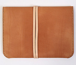 Natural Leather iPad Portfolio