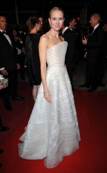 Naomi Watts delivered so many spot-on looks at Cannes, but this Armani Privé takes the cake.