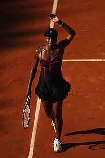 Venus Williams Causes Stir With Lace Corset Outfit at the French Open