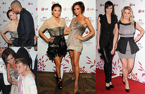 Pictures From Victoria Beckham And Eva Longoria's LG Party
