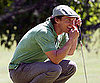 Slide Picture of Matthew McConaughey Playing Golf