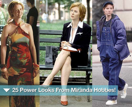 25 Power Looks From Miranda Hobbes!