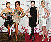Pictures of Victoria Beckham and Eva Longoria at LG Event
