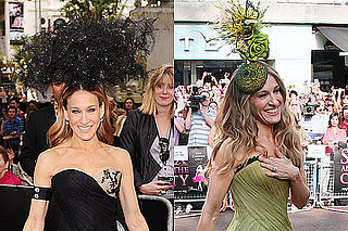 Pop Poll:  Which of Sarah Jessica Parker's London Headpieces Do You Prefer?