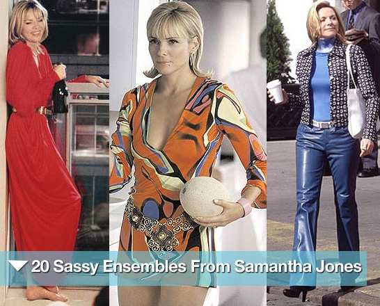 Peep 20 sassy ensembles from Samantha Jones.