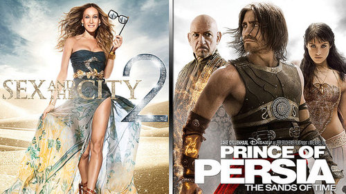 Sex and the City 2 Movie Review and Prince of Persia Movie Review