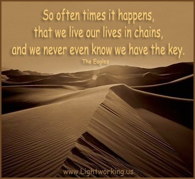 Chains - Quote from the Eagles