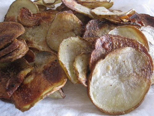 Baked Potato Chip Recipe