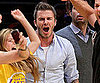 Slide Picture of David Beckham At Lakers Game 2010-05-28 09:15:01