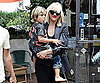 Slide Picture of Gwen Stefani and Kingston Rossdale With Painted Nails