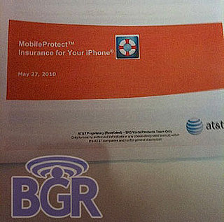 AT&T Offering Insurance For iPhones Called MobileProtect