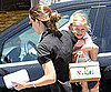 Slide Picture of Violet Affleck Shopping With Jennifer Garner