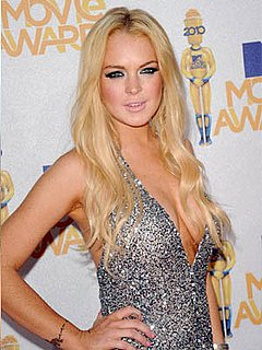 Lindsay Lohan at 2010 MTV Movie Awards