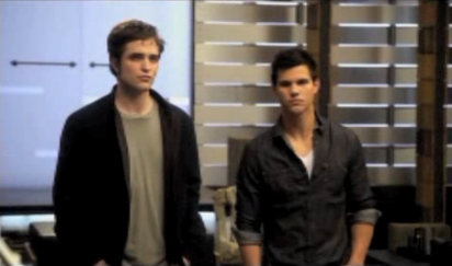 Video of the MTV Movie Awards Opening With Les Grossman, Taylor Lautner, and Robert Pattinson