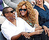 Slide Picture of Jay Z and Beyonce at French Open in Paris