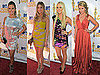 Audrina, Whitney, Lo and Stephanie on the 2010 MTV Movie Award Red Carpet