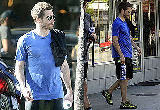 Pictures of Jake Gyllenhaal Working Out in LA