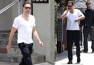 Pictures of Alexander Skarsgard Walking in LA