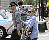 Slide Picture of Ashley Olsen and Justin Bartha Walking in New York