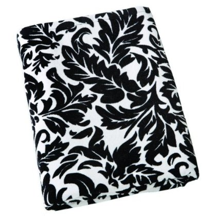 French Twist Black Beach Towel ($25)