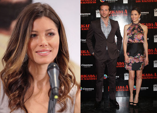 Pictures of Bradley Cooper, Jessica Biel at the Premiere of the A-Team in Mexico 2010-06-02 20:00:15