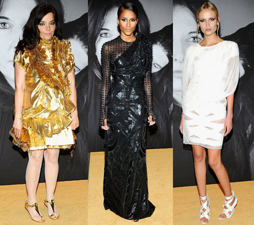 Celebs and Models Rock Givenchy