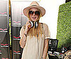 Slide Photo of Lindsay Lohan at the MTV Movie Awards Style Lounge in LA