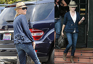 Pictures of Reese Witherspoon Dining Out in LA Without Water For Elephants Costar Robert Pattinson