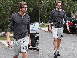 Pictures of Bradley Cooper Heading to the Gym in LA