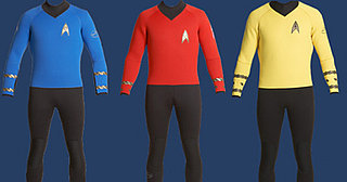 Custom-Made Star Trek Wetsuit
