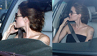 Pictures of Birthday Girl Angelina Jolie Leaving Lunch in LA