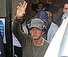 Slide Picture of Eminem Leaving Radio One Studios in London