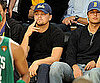 Slide Picture of Leonardo DiCaprio at Lakers Game Against Celtics