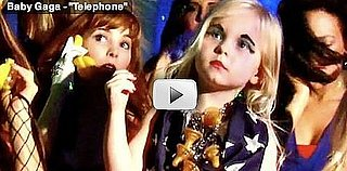 Little Girl Reenacts Lady Gaga's Telephone