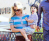 Slide Picture of Britney Spears at Johnny Rockets 2010-06-05 11:00:10
